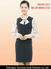 New Style Hotel Service Uniform for Waitess SSLHU-013