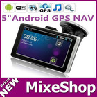 Smart Android 2.3 WI-FI GPS with 5 Inch Touchscreen GPS Navigator 1.2GHz CPU, 512MB RAM, 8GB
