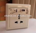 wall socket usb charging