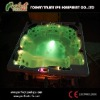 LED multi color ligthting hot tub /spa pool for wholesale