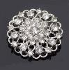 Cheap Romantic Beautiful Crystal Rhinestone Brooch for Wedding