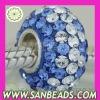 Wholesale Fashion European Style Austrian Crystal Bead,Accessories For Bracelet