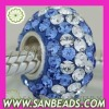 Wholesale Fashion European Style Austrian Crystal Bead,Accessories For Bracelet