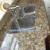 brown granite kitchen top