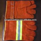 Marine Full leather fire fighting gloves