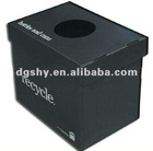 supply and custom collapsible,folding corrugated PP plastic bin