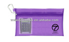 Factory plastic mesh pencil case pencil case for teenagers with zipper