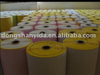 white and color fluorescence adhesive label material