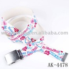 fashion canvas webbing belt
