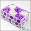 flower soap,hot sell,best price 6pc/set FZ