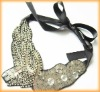 Latest Hotsale Crystal Beaded Necklace Collar with Sequins
