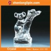 Koala design crystal trophy award