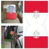 100%Polyester Car Headrest Cover