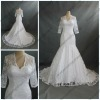 WR-021 Elegant Long Sleeve Lace Wedding Dress 2013