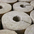 White Big Diameter Rock Wool Pipe Insulation with 98% Hydrophobicity