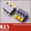 Screwless terminal blocks connector pitch 5.0MM