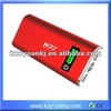 2012 latest portable power bank charger 10000mah
