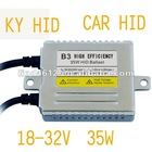 High Efficiency B3 HID Lighting ballast 24V/35W