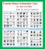 Toyota parts/new hiace parts/ Commuter van parts /Quantum parts/Hiace 200/ hiace 2005 2006 2007 2008 2009 2010 2011