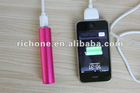 2600 mAH power bank,rechargeable battery charger
