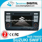 Sharing Digital Special DVD Player with GPS Tracker for SUZ Swift (2004-2010)