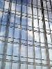 glazed aluminum alloy curtain wall for high rise building