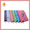 magnetic smartcover dot pattern stand 360 degree rotating stand pouch leather case for ipad 3