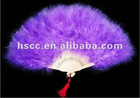 Dance feather fan for party for hot sale