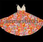 Lady's fashion Bohemian beaded dress