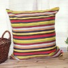 Fashion Traditional Colourful Parallel Line Printed Cushion/Pillow