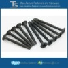 hardened steel C1022 black phosphated drywall screw