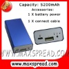 Power bank for mp3 mp4 mp5 mobile phones camera batteries