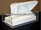 Arcylic tissue box napkin box