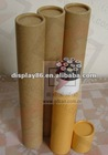 rolled edge pencil paper tube