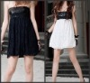 2012 hot selling ladies off-shoulder fashion dress