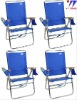 Aluminum high back beach chair 4 position big kahuna beach chair Original Easy In Easy Out Beach Chair