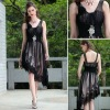 A-Line V-Neck Fashion New Design Chiffon Cocktail Hi-Lo Dresses