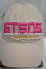 Fashion 3D embroidery 6 panel baseball cap