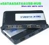 ESATA-SATA USB HUB COMBO & E-SATA USB COMBO&ALL IN ONE HUB E-SATA&USB to ESATA/SATA with 5 Port Hub