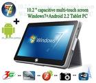 "Newest Model 10"" Windows 7/MeeGo Intel N455 1.66GHz slim tablet pc"