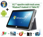 "Newest Model 10"" Windows 7/MeeGo Intel N455 1.66GHz slim tablet pc"