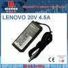 Replacement Laptop AC Adapter 20V 4.5A for LENOVO (8.0*5.5mm)
