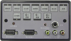 black powerful classroom use center control switcher
