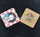 silk screen printing coaster/cork coaster(promotional gift)