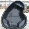 Preformed Fiberglass outdoor fish pond products