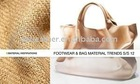 2013 top fashion pu Lady handbags leather
