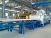 aluminium billet heating furnace with hot log shear
