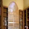 Solid wooden shutter