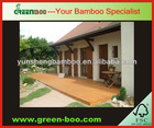 bamboo ceiling and decking