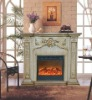 Wall -mounted electric fireplace